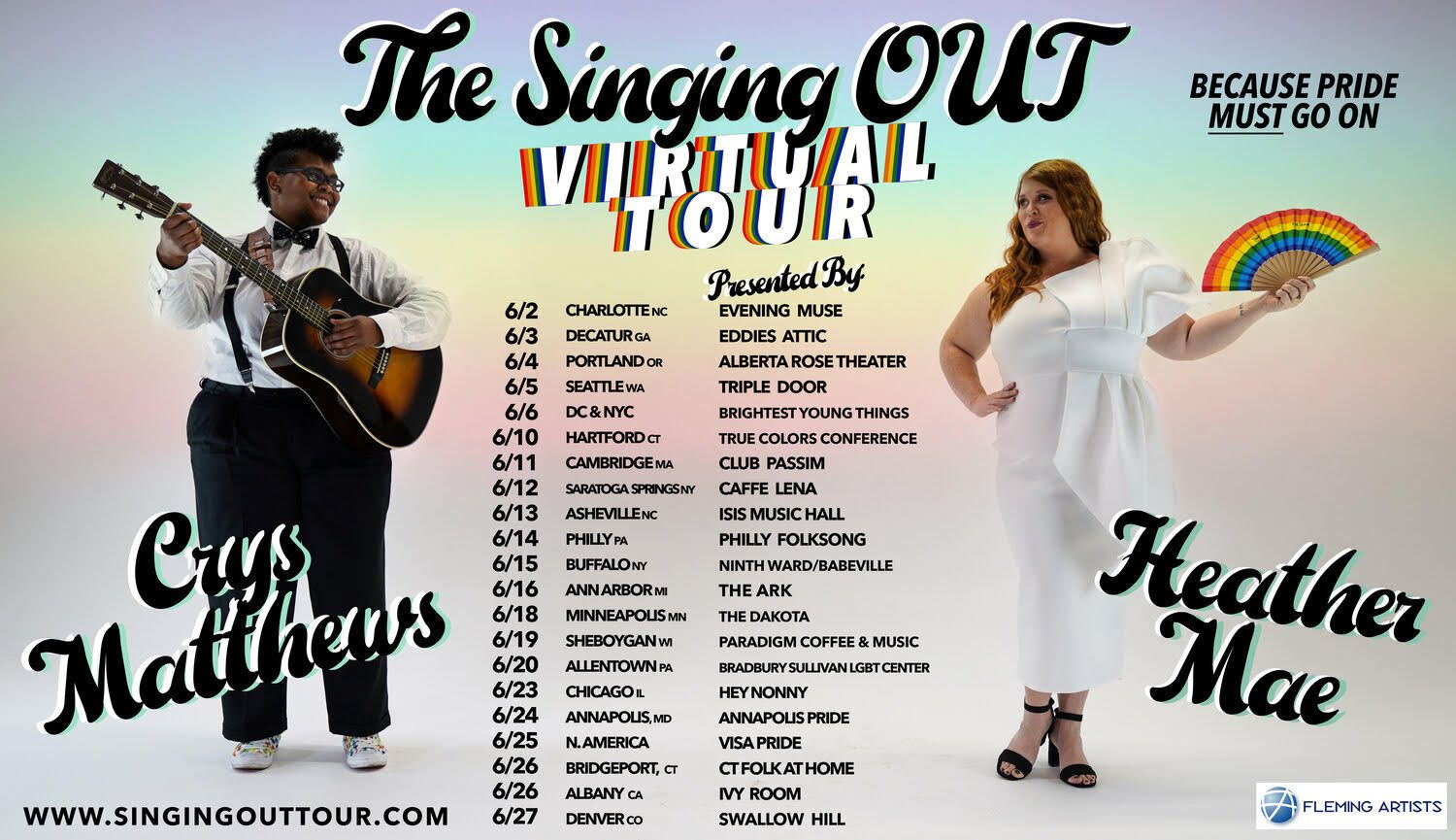 The Singing OUT Tour